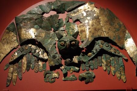 Très présents dans la culture Moche, les représentations de hiboux accompagnaient les défunts dans l'au-delà.