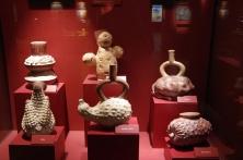 L'exellence de l'art mochica ! (Le site détient le record du plus grand nombre de poteries découvertes !)