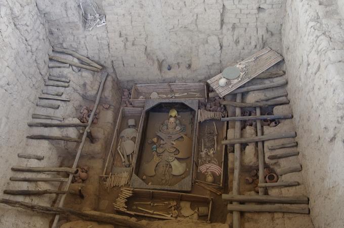 Reconstitution de la tombe du seigneur.