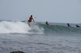 Photos du célèbre spot de surf de Mancora !