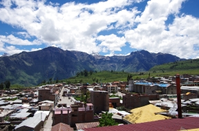 Le village de Cabanaconde