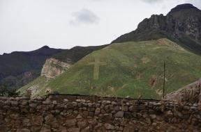 Le Pérou est très chrétien...