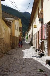 Une rue d'Ollantaytambo