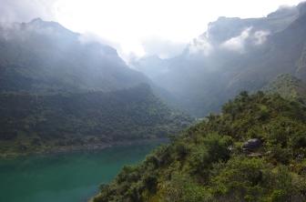 Le lagune Usphaqocha (3800m)