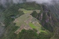 Vue du mont Huayna Picchu